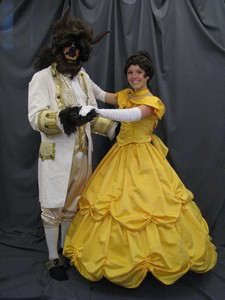 Beast w/ Colonial Jacket and Belle