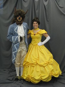 Beast w/ Blue Colonial and Belle