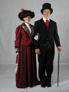 Victorian Wealthy Couple